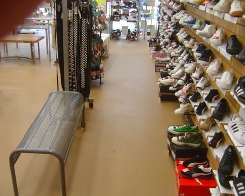Hard Wearing Poured Rubber Retail Flooring Harrogate