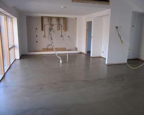 Mike Marlin Poured Polished Concrete Residential Milton Keynes