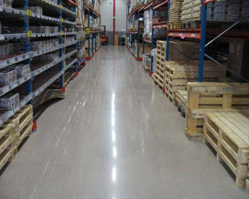 Polished Concrete Factory Flooring Leeds