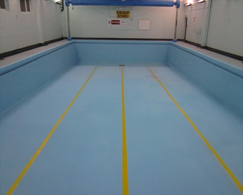 Swimming Pool Waterproofing Membrane : Seamless polyurea coatings swimming pool linings flexible
