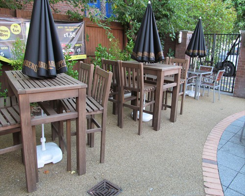 Resin Bound Paving System Wetherspoons Hartlepool