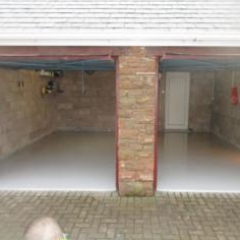 Residential Garage Flooring Gamblesby Penrith Cumbria